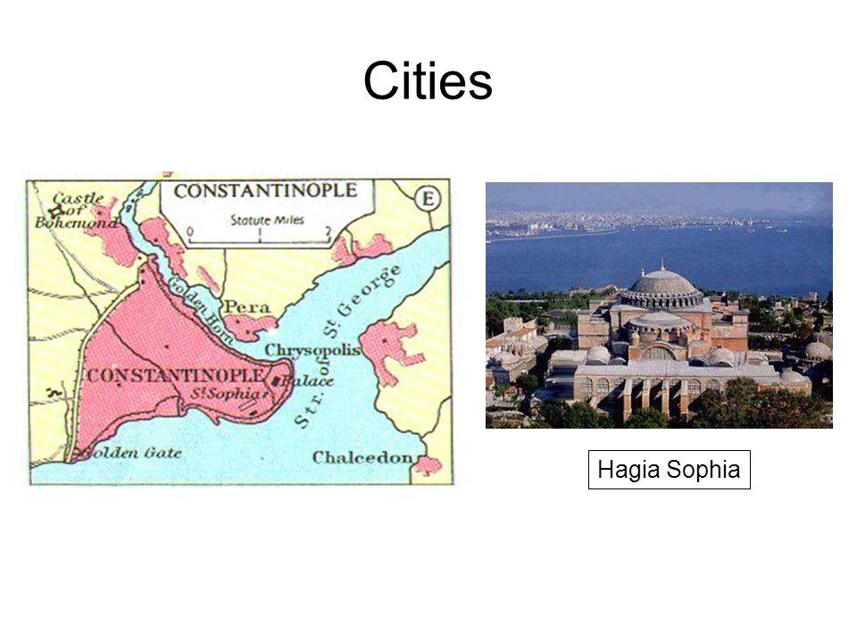 Cities Hagia Sophia