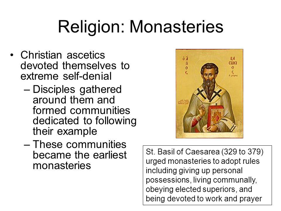 Religion: Monasteries