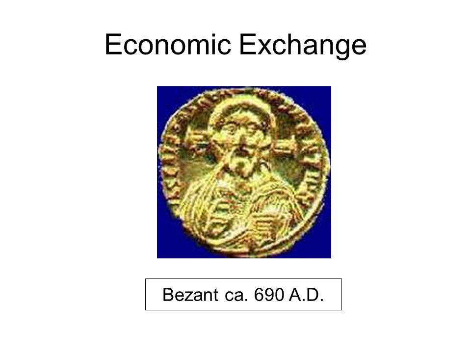 Economic Exchange Bezant ca. 690 A.D.