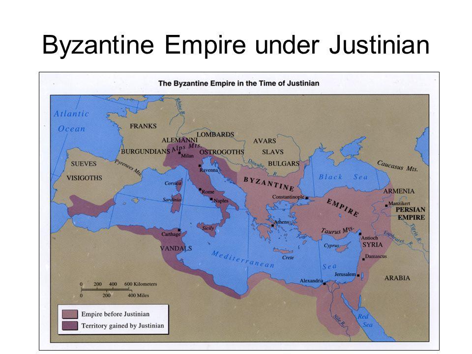 Byzantine Empire under Justinian