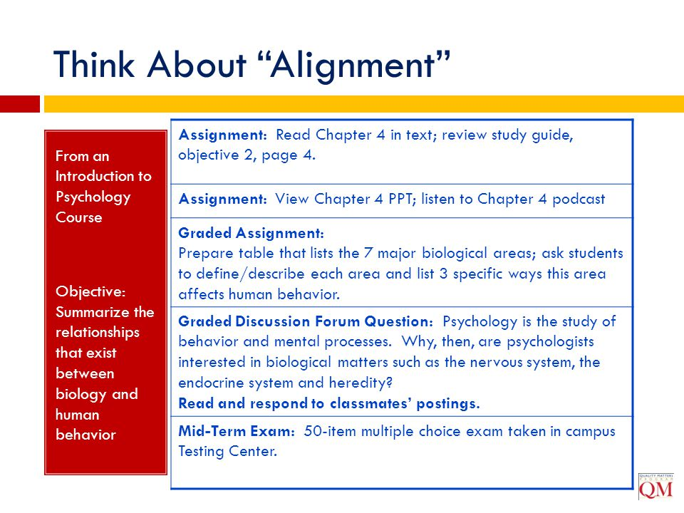 Think About Alignment