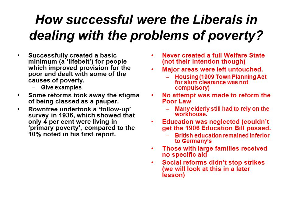 how successful were the liberal government Successful government programs — a partial list these were actually successful and worthwhile albeit over budget sd liberal bookworms.