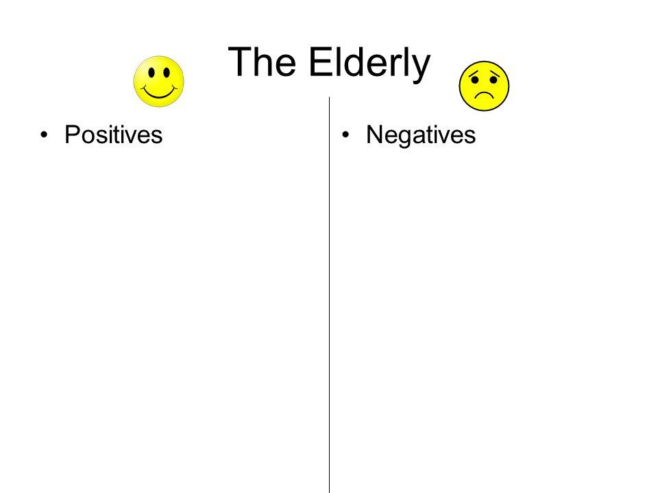 The Elderly Positives Negatives