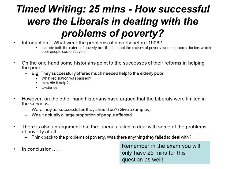 how successful were the liberal governments Sample essay – liberal reforms  rowntree were the main reason for the liberal reforms of 1906 to 1914,  government and convinced the liberals that the only .
