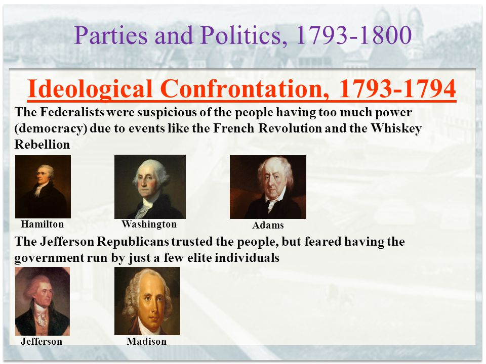 Ideological Confrontation, 1793-1794