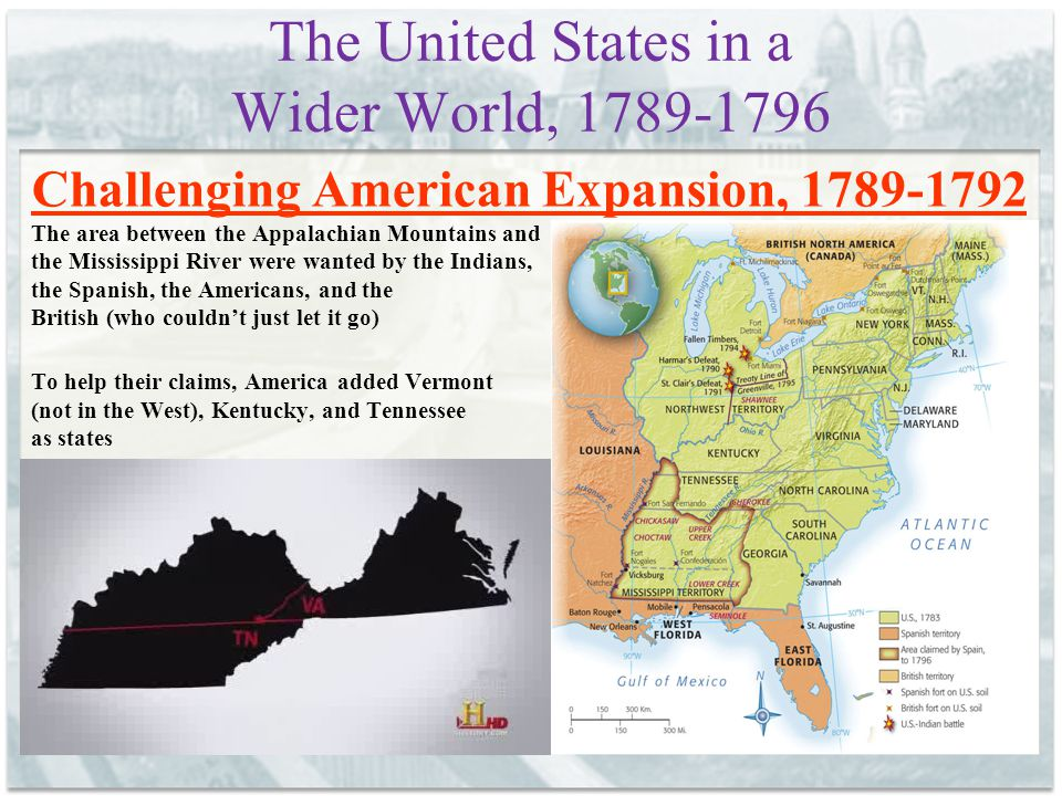 The United States in a Wider World, 1789-1796