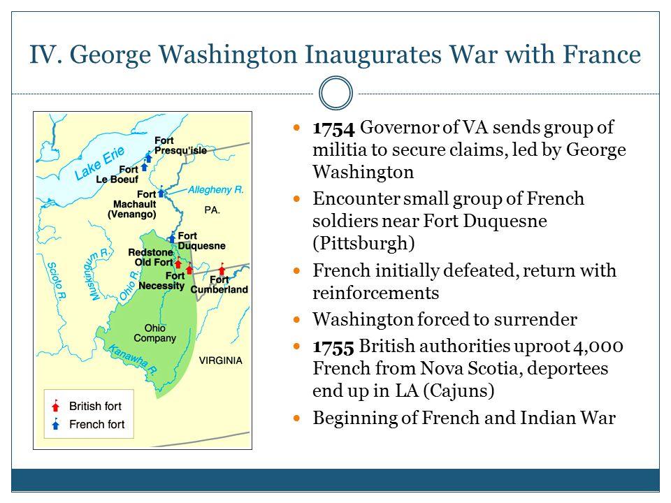 IV. George Washington Inaugurates War with France