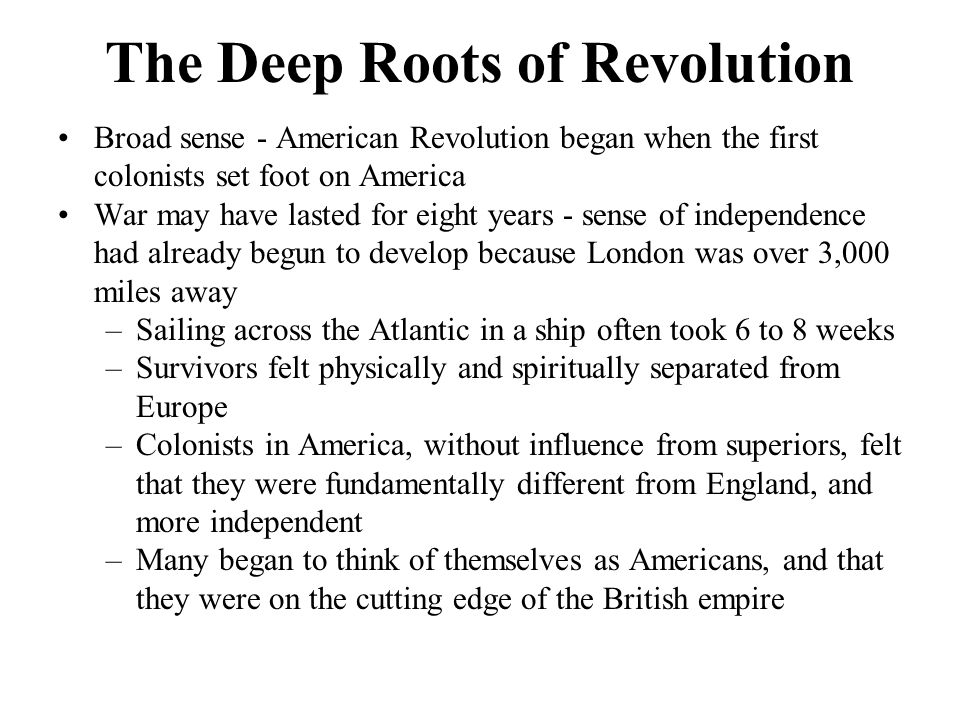 the deep roots of revolution Reading [pdf] the day the world took off: the roots of the industrial revolution download full ebook popular booksreads [pdf] the day the world took off.