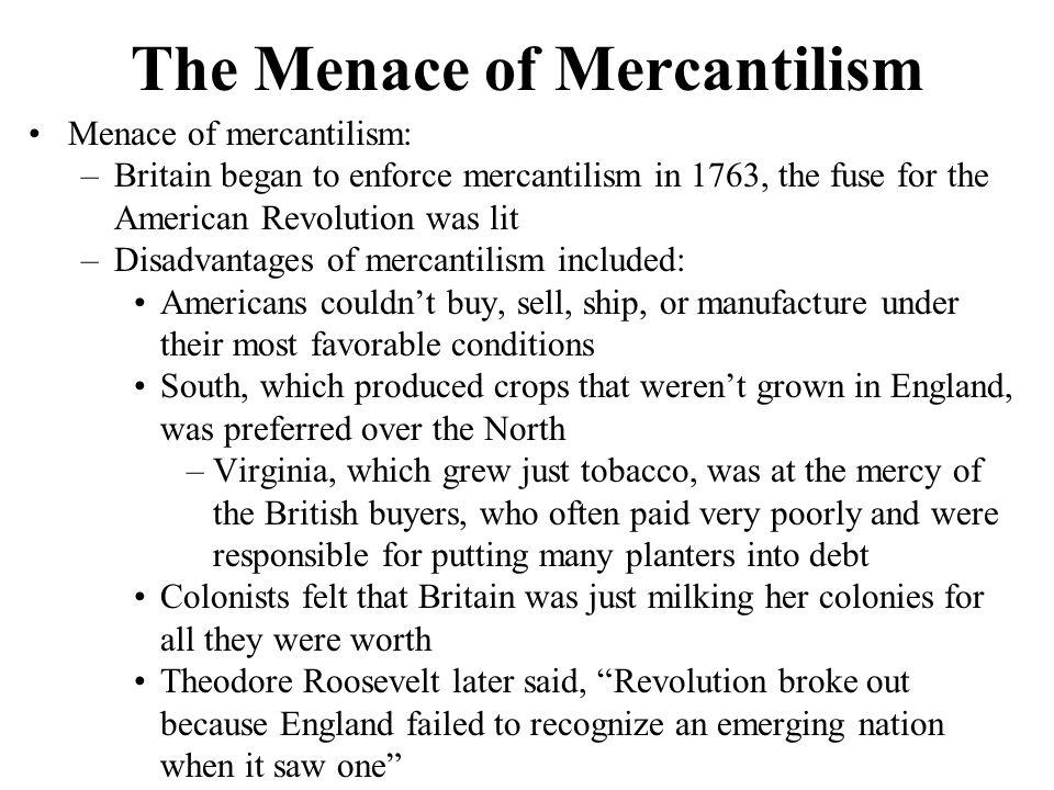 The Menace of Mercantilism
