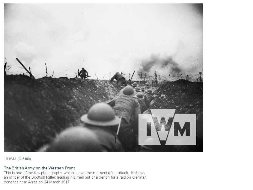 The British Army on the Western Front