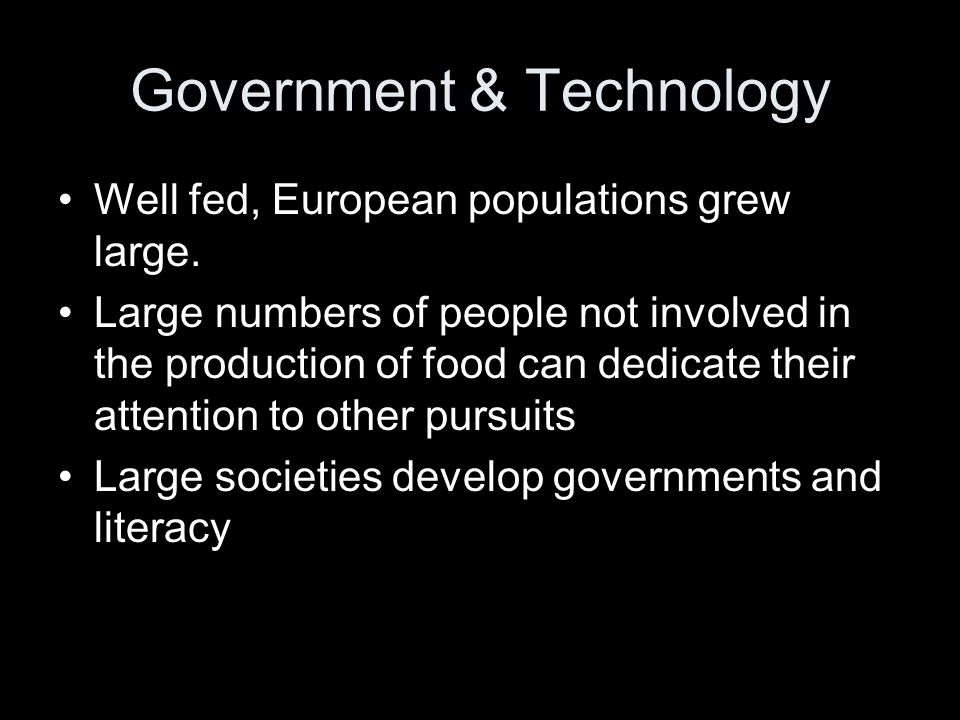 Government & Technology