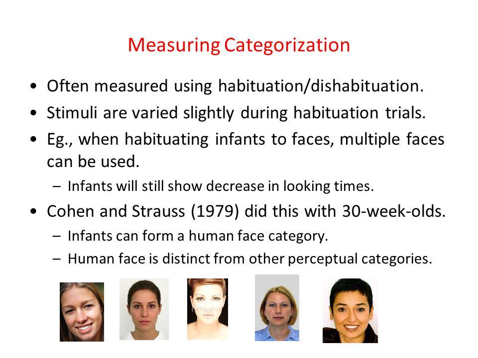 Measuring Categorization