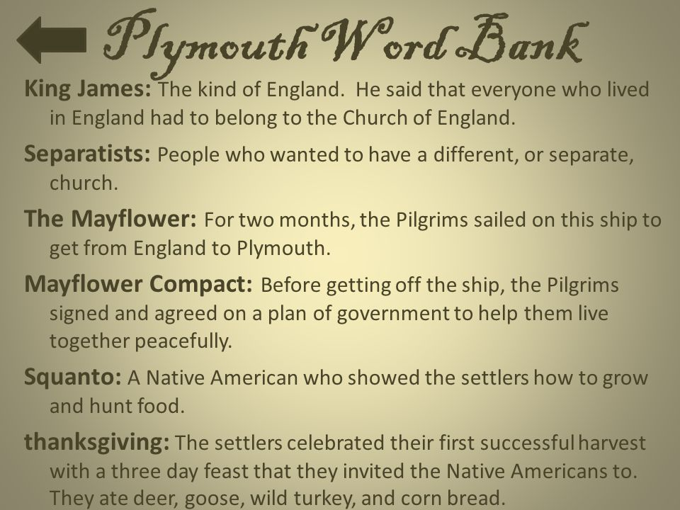 Plymouth Word Bank
