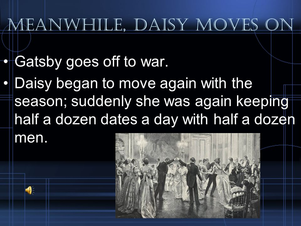 Meanwhile, daisy moves on