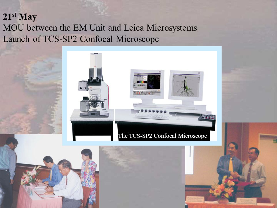 MOU between the EM Unit and Leica Microsystems