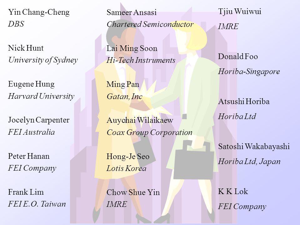 Yin Chang-Cheng DBS. Nick Hunt. University of Sydney. Eugene Hung. Harvard University. Jocelyn Carpenter.