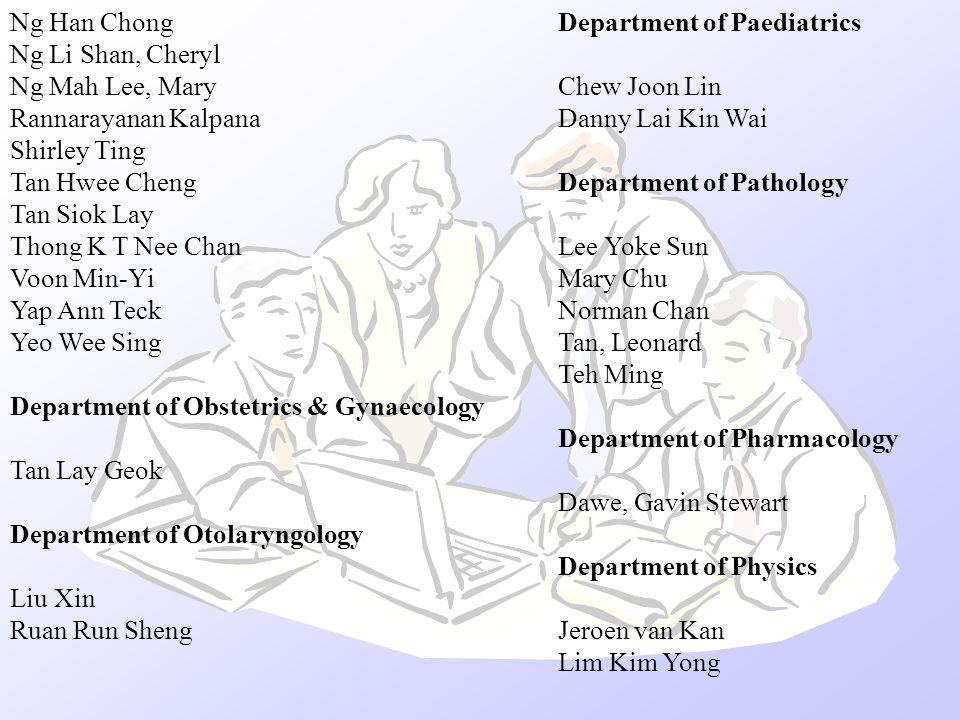 Department of Paediatrics