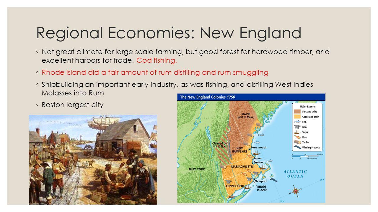Regional Economies: New England