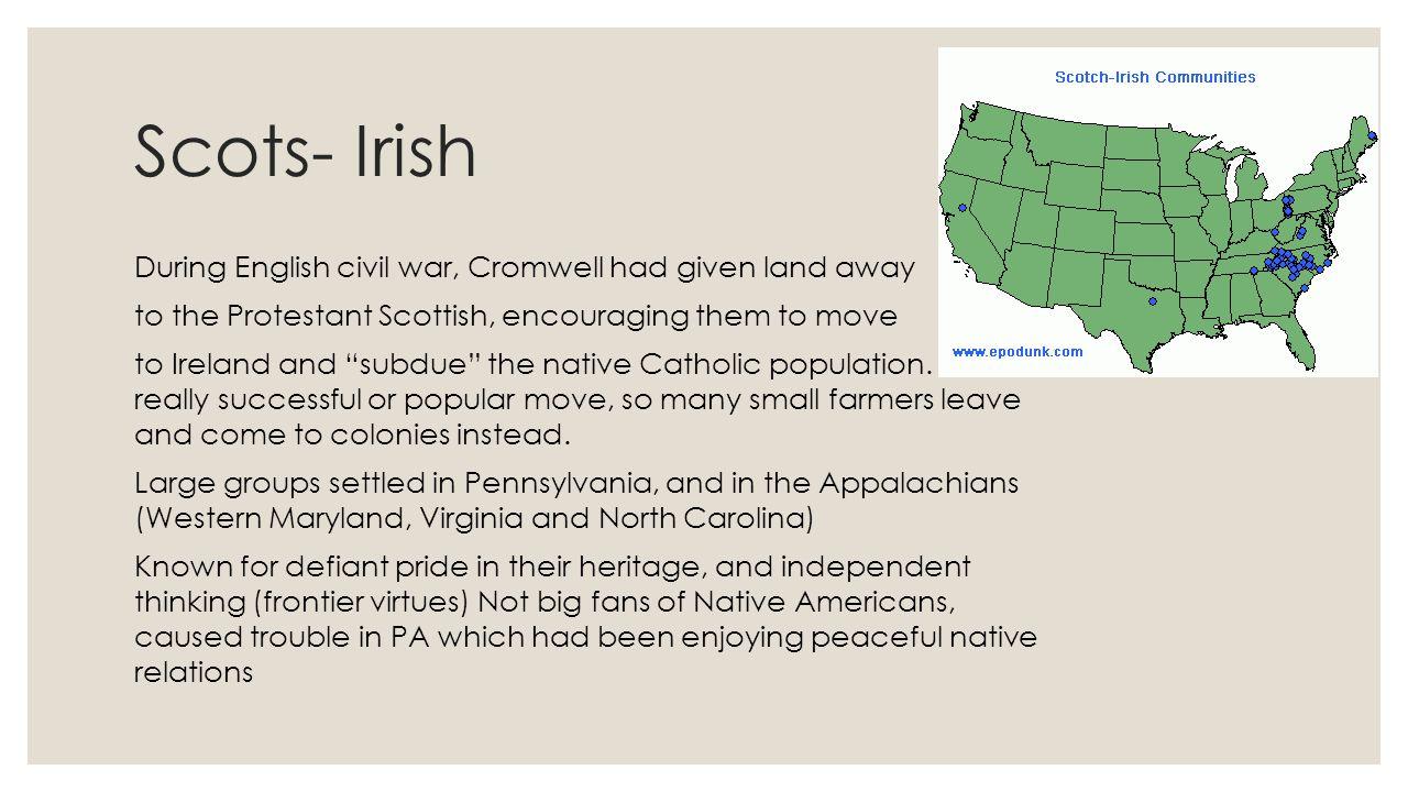 Scots- Irish