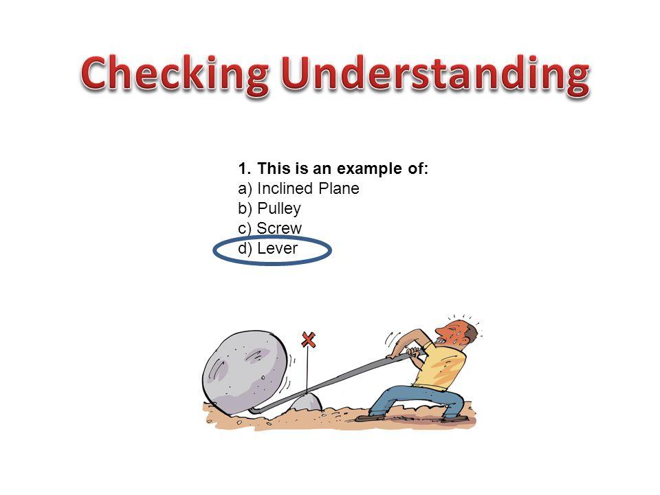 Checking Understanding