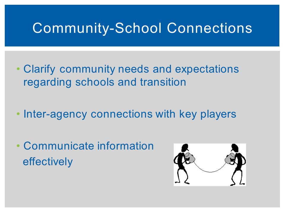 Community-School Connections