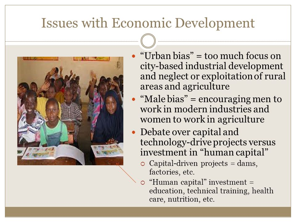 Issues with Economic Development