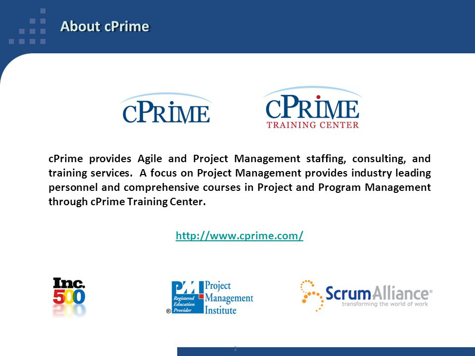 About cPrime