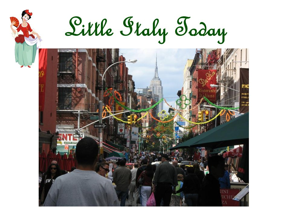 Little Italy Today