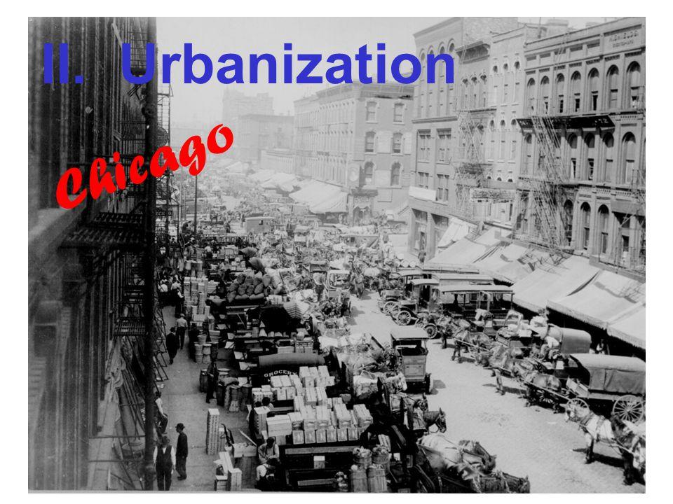 II. Urbanization Chicago