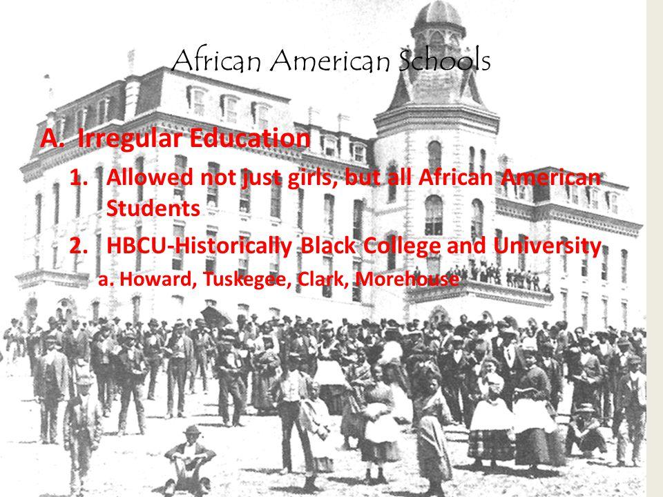 African American Schools