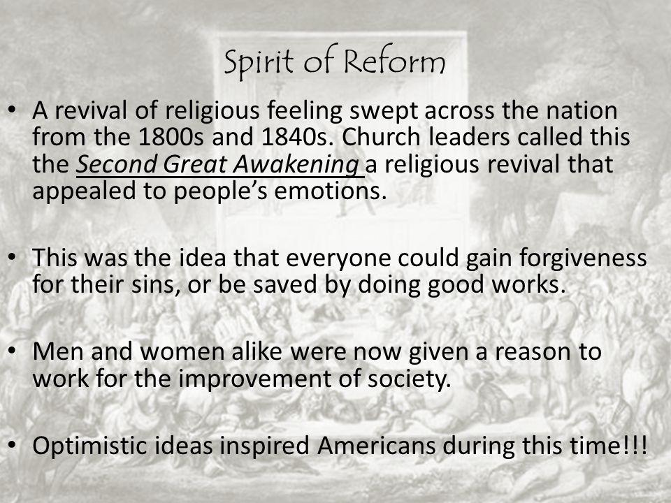 Spirit of Reform