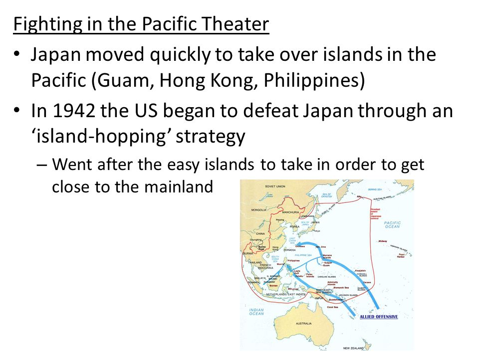 Fighting in the Pacific Theater