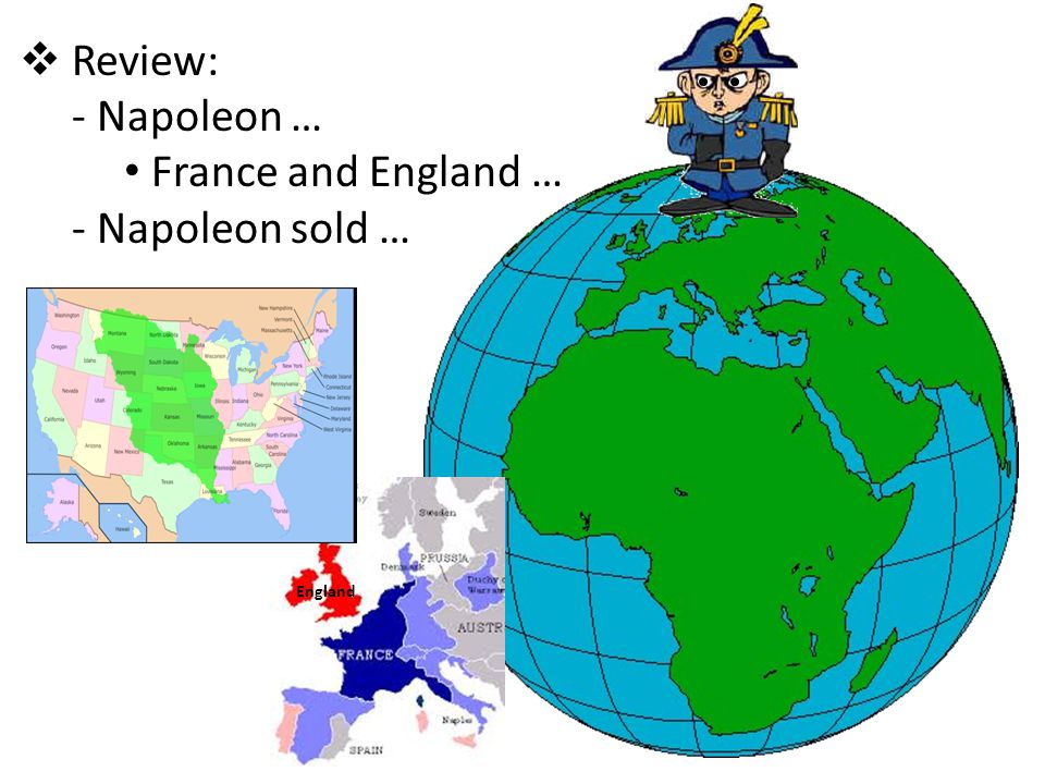Review: Napoleon … France and England … Napoleon sold … Review: