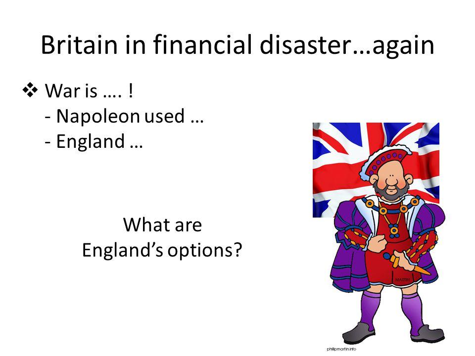 Britain in financial disaster…again