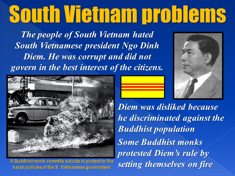 South Vietnam problems