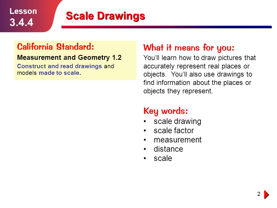 Scale Drawings Lesson ppt download