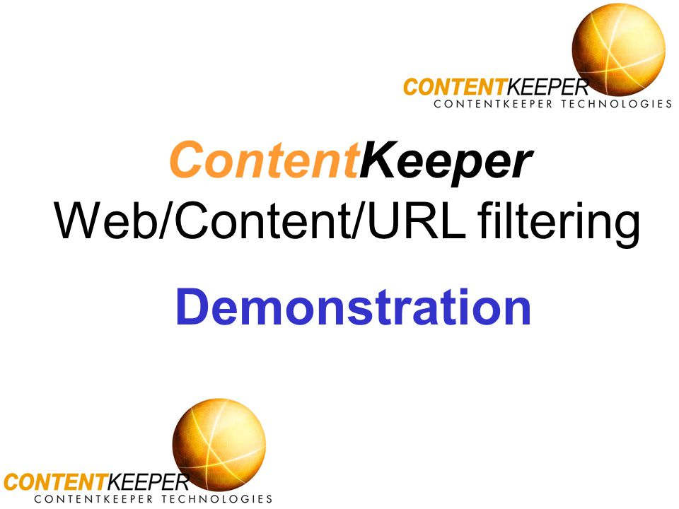 Web/Content/URL filtering