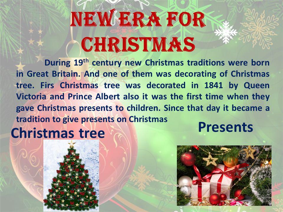 NEW ERA FOR CHRISTMAS Presents Christmas tree