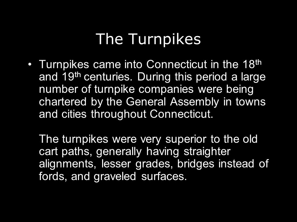 The Turnpikes