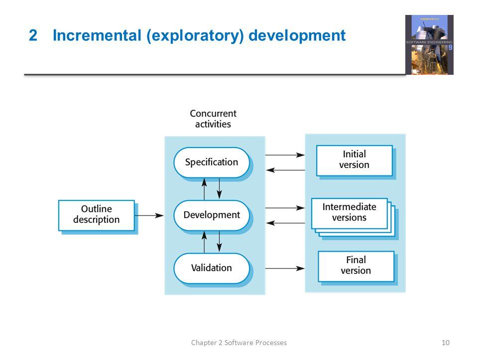 2 Incremental (exploratory) development