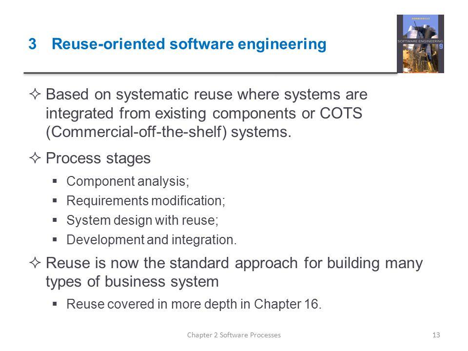 3 Reuse-oriented software engineering