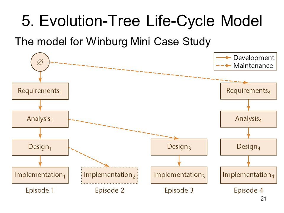 5. Evolution-Tree Life-Cycle Model