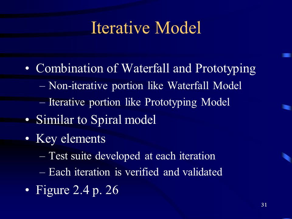Iterative Model Combination of Waterfall and Prototyping