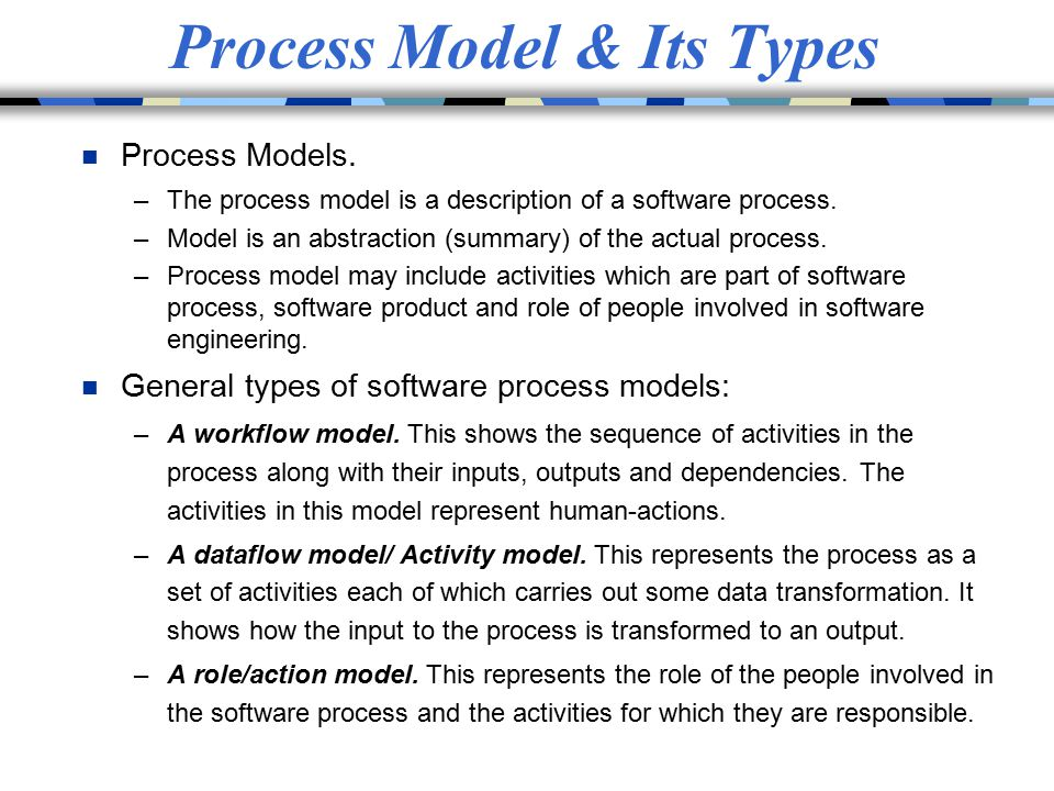 Process Model & Its Types