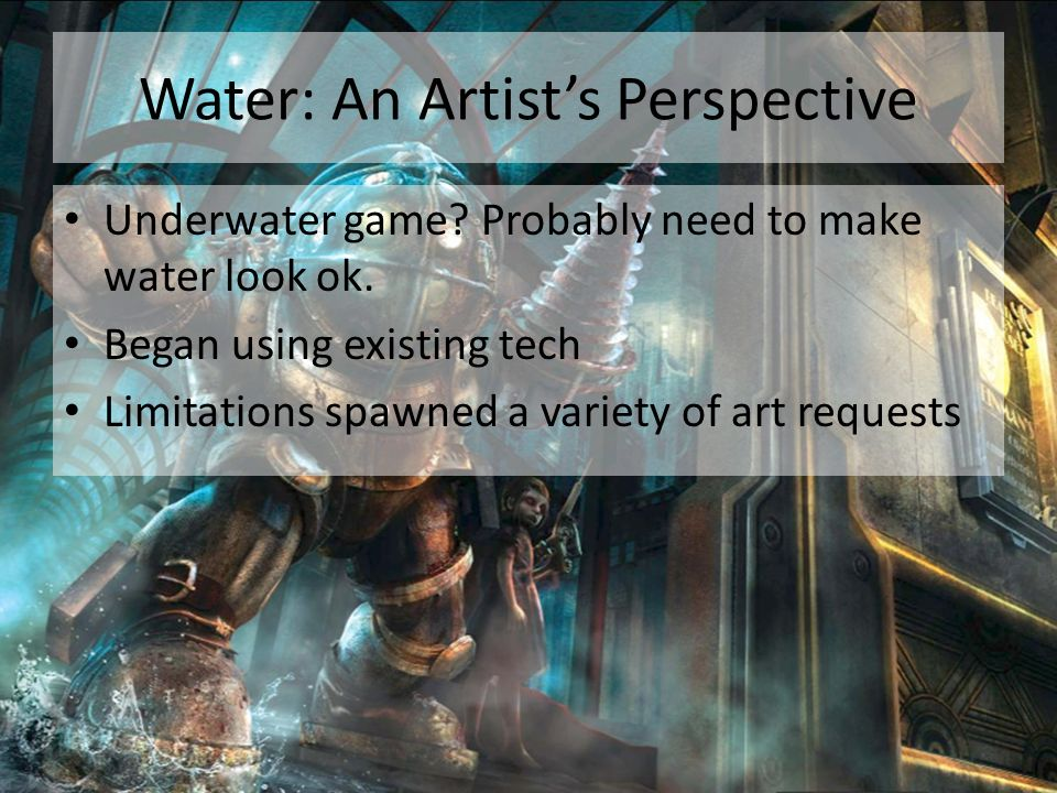 Water: An Artist's Perspective