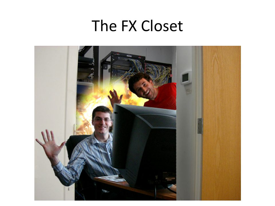 The FX Closet Jesse Johnson (left) and Stephen Alexander (right)