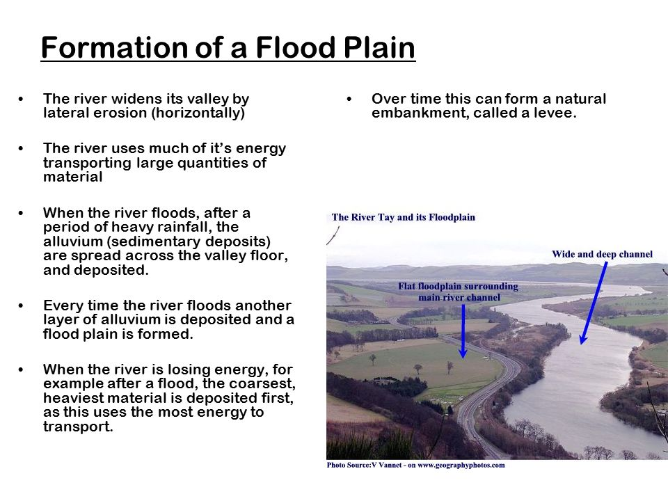 Formation of a Flood Plain