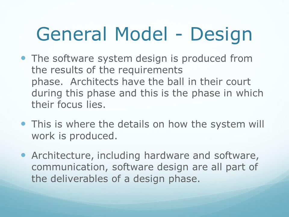 General Model - Design
