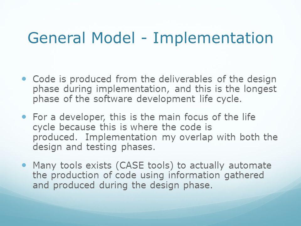 General Model - Implementation