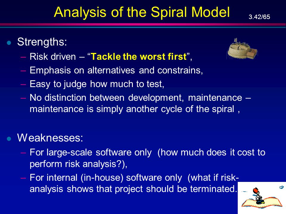 Analysis of the Spiral Model